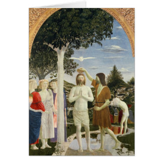 Bautismo de Cristo Tarjetón