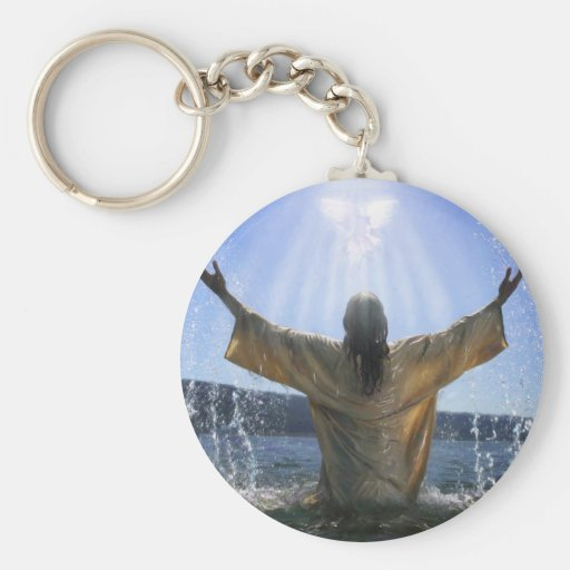 Bautismo de Jesús Llaveros Personalizados