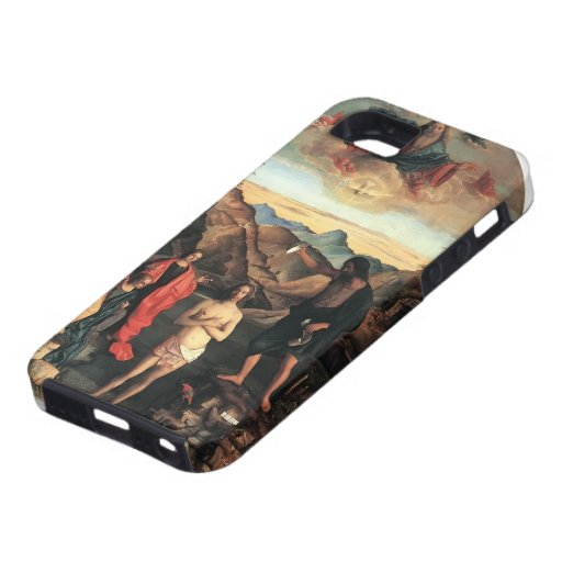 Bautismo de Juan Bellini- de Cristo, Altarpiece iPhone 5 Case-Mate Funda