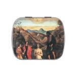 Bautismo de Juan Bellini- de Cristo, Altarpiece Jarrones De Caramelos