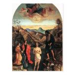 Bautismo de Juan Bellini- de Cristo, Altarpiece Postal