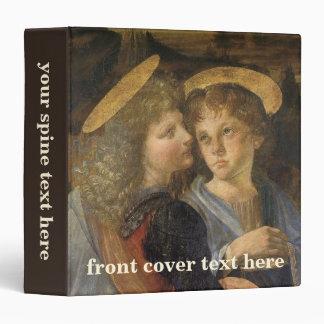 """Bautismo de los ángeles de Cristo de Leonardo da Carpeta 1 1/2"""""""