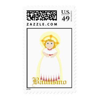"""Bautismo"" Stamp-Customize Stamps"