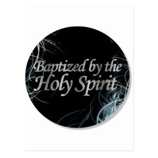 Bautizado por el Espíritu Santo 2 Postal