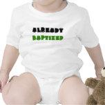 bautizado ya traje de bebé