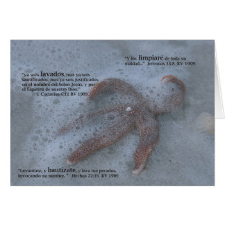 Bautizmo (Carta) Card