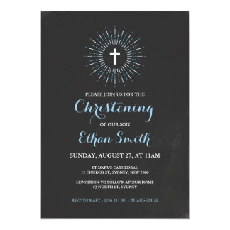 """Bautizo de la pizarra/invitación del bautismo - invitación 5"""" x 7"""""""