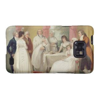 Bautizo del heredero, (aceite en lona) SE c.1799 Samsung Galaxy SII Funda