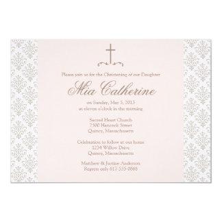 Bautizo/invitación del bautismo - personalice