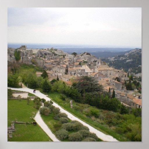 Baux-de-Provence - Poster