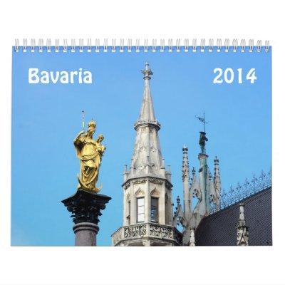 Bavaria 2014 calendars