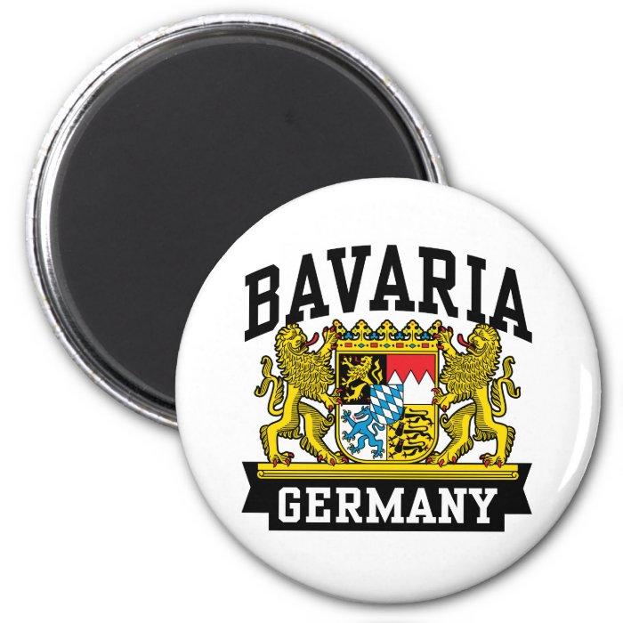 Bavaria 2 Inch Round Magnet