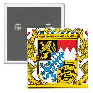 Bavaria 2 Inch Square Button