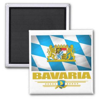 Bavaria 2 Inch Square Magnet
