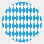 Bavaria Bavaria Octoberfest Round Stickers