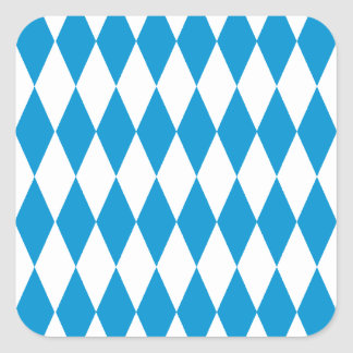Bavaria Bavaria Octoberfest Square Sticker