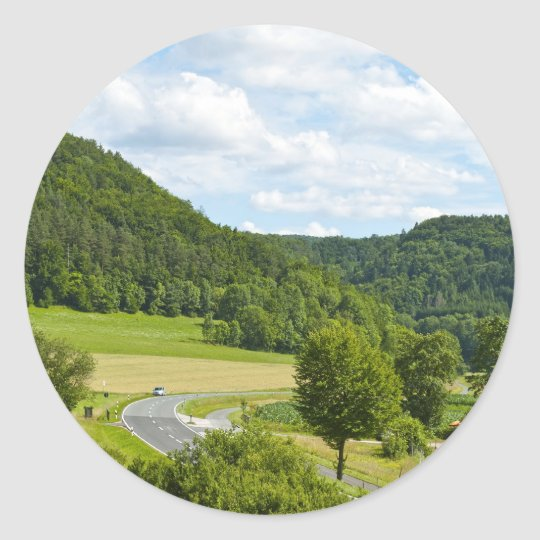 Bavaria Classic Round Sticker