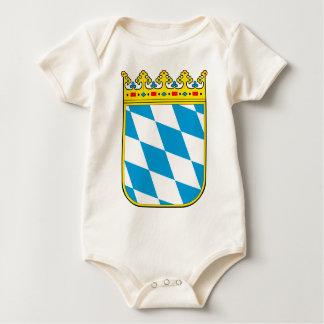 Bavaria coat of arms baby bodysuit