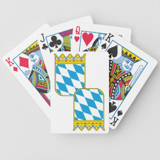 Bavaria coat of arms bicycle playing cards