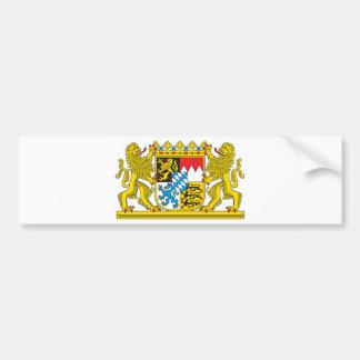 Bavaria coat of arms bumper sticker