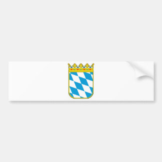 Bavaria coat of arms car bumper sticker