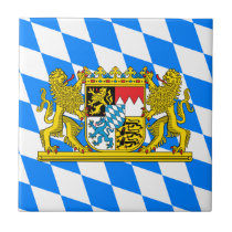Bavaria Coat of arms Ceramic Tile