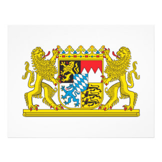 Bavaria coat of arms flyer