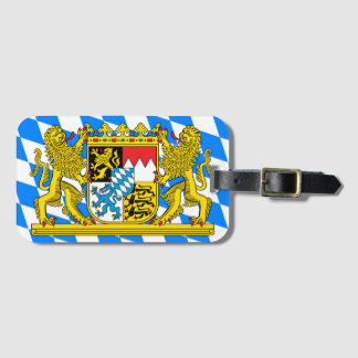 Bavaria Coat of arms Luggage Tag