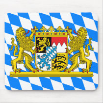Bavaria Coat of arms Mouse Pad