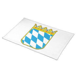 Bavaria coat of arms place mats