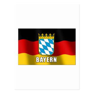 Bavaria coat of arms postcard