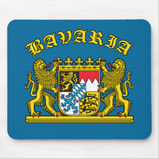 Bavaria Coat of Arms Tshirts and Products Mouse Pad