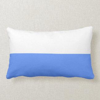 Bavaria color throw pillow