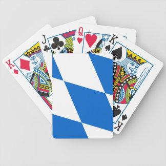 Bavaria flag bicycle playing cards