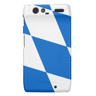 Bavaria flag droid RAZR cover