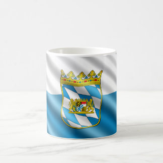 Bavaria flag coffee mug