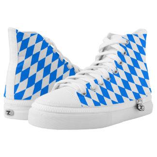 Bavaria Flag High-Top Sneakers