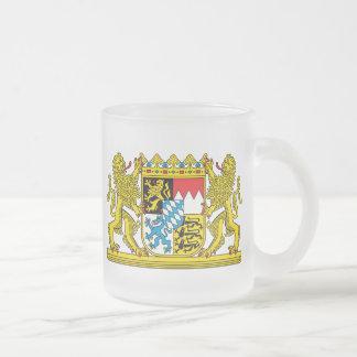 Bavaria Frosted Glass Coffee Mug