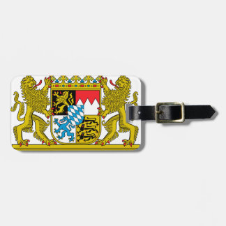 Bavaria (Germany) Coat of Arms Luggage Tag