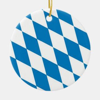 bavaria germany land flag ornaments