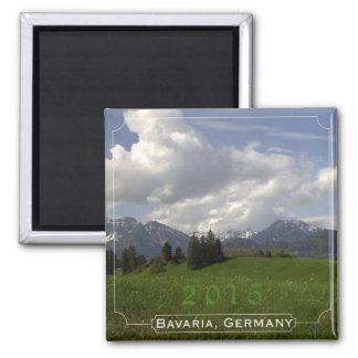 Bavaria Germany Souvenir Magnet Change Year