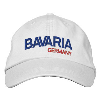 Bavaria* Germany White Baseball Cap