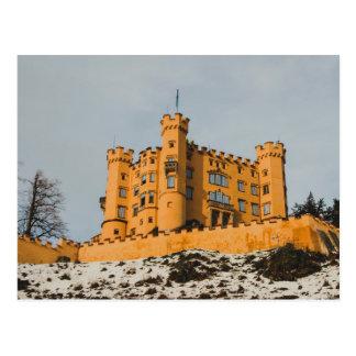 Bavaria Hohenschwangau castle, Germany Postcard
