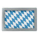 bavaria land region germany country flag rectangular belt buckles