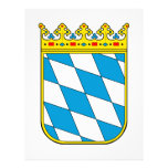Bavaria lesser coat of arms customized letterhead