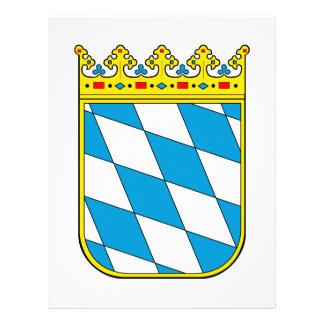 Bavaria lesser coat of arms full color flyer