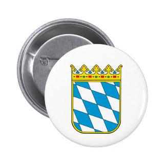 Bavaria lesser coat of arms pinback button