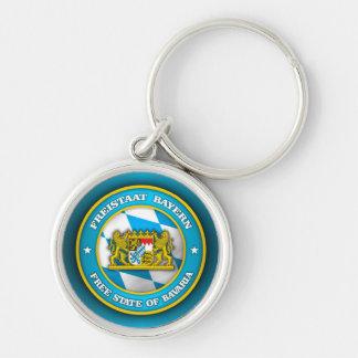 Bavaria Medallion Keychain