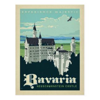 Bavaria   Neuschwanstein Castle Postcard