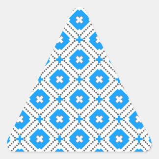 Bavaria Pattern Triangle Sticker